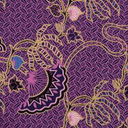 Holland Batik fabric purple...