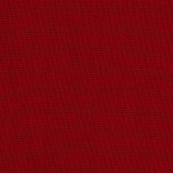 Solid dark red cotton fabric