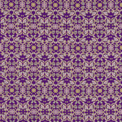 Purple Holland batik fabric