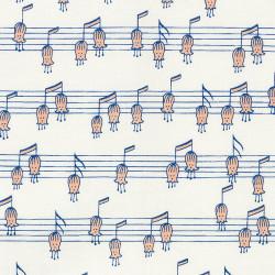 Musical Flower Fabric