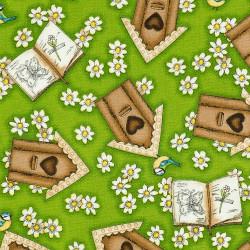 Birdhouse Fabric