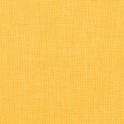 Solid dark milkshake yellow cotton fabric