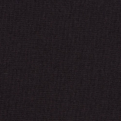Solid Dark brown gray cotton fabric