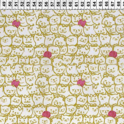 Stack-o-Cats Fabric