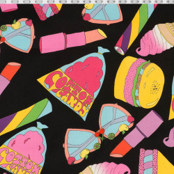 Cotton candy fabric