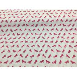 Little pink unicorns fabric