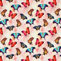 Vlinder tricot
