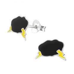 Thundercloud earrings