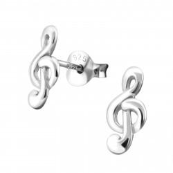 Staff earrings