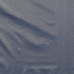 Chambray gloss fabric blue