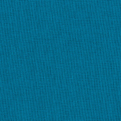 Dark aqua blue cotton fabric