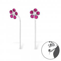 Crystal Flower earrings...