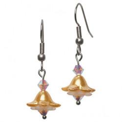 Bellflower earring gold