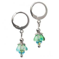 Bells of Ireland earrings