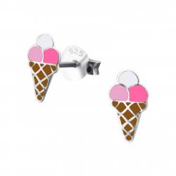 Ice cream earrings