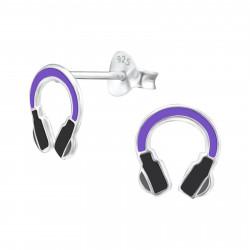 Headphone earrings