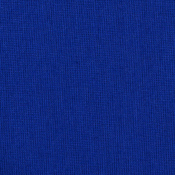 Bright blue cotton fabric