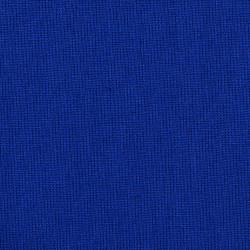 Hard blauwe katoenen stof