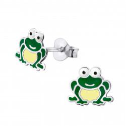 Frog ear studs