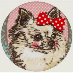 Chihuahua button