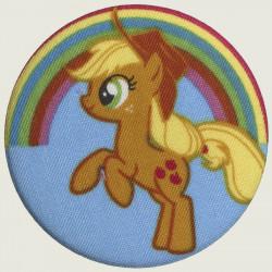 Applejack button