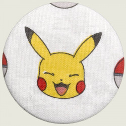 Lachende Pikachu button