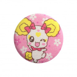 Candy button knipoog