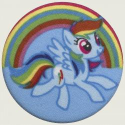 Rainbow Dash button