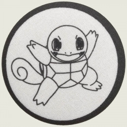 Squirtle stof button